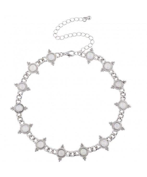 Lux Accessories Vintage Antique Necklace