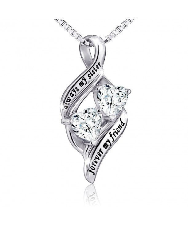 Sterling Silver Always Forever Necklace