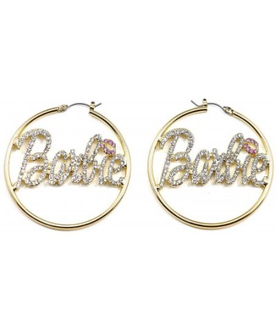 Color Large Catch Barbie Earrings