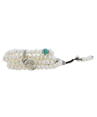 Freshwater Cultured Meditation Bracelet Necklace