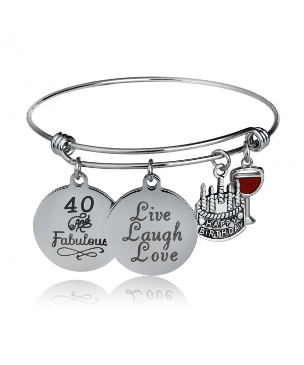 Cake Cheer Live Laugh Love Charms