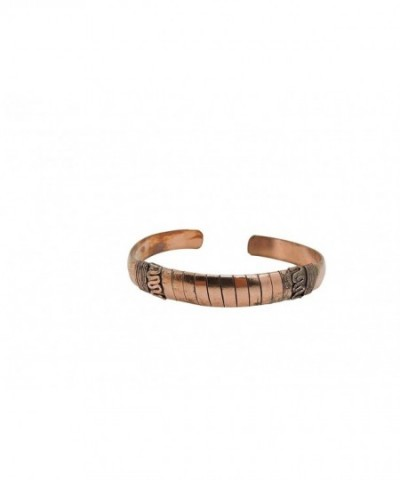 Tibetan Crafted Copper Medicine Bracelet