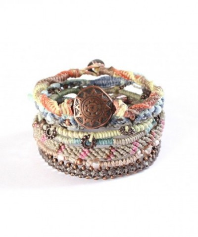 Wakami Womens Earth Bracelet Strands