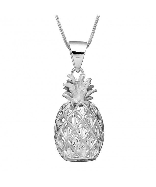 Sterling Silver Pineapple Necklace Extender