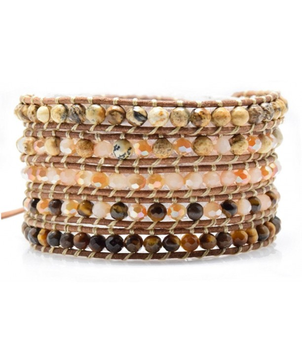 Bracelet Natural Leather Fashion Jewelry
