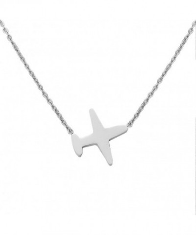 Necklace Silver Stainless Pendant Jewelry