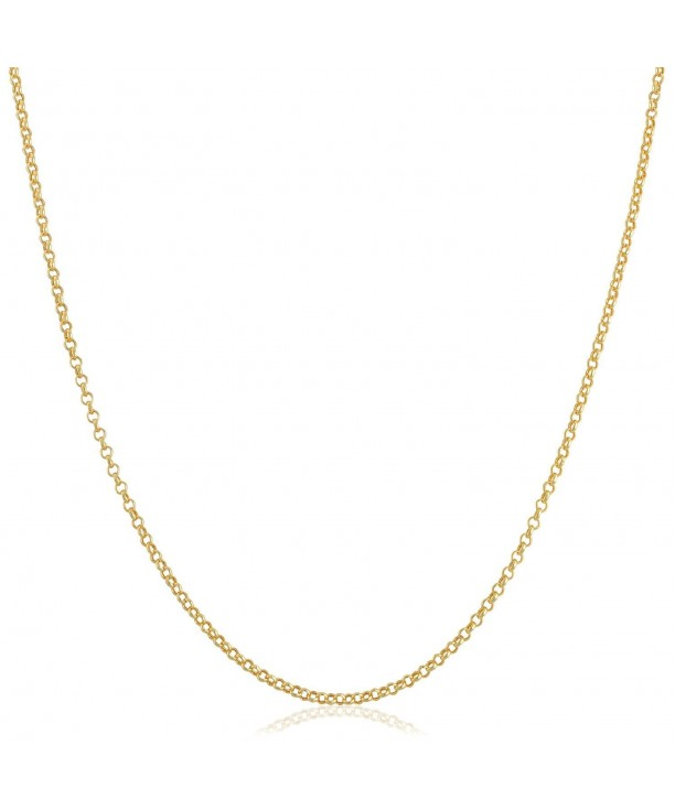 Yellow Gold Filled Chain Necklace