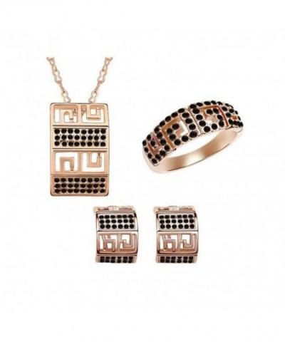 COPAUL Fashion Necklace Bracelets Earrings