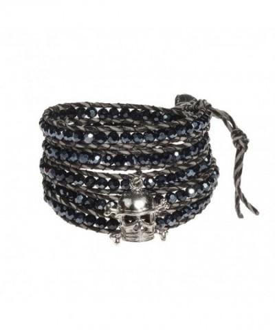 Pirate Midnight Fashion Crystal Bracelet