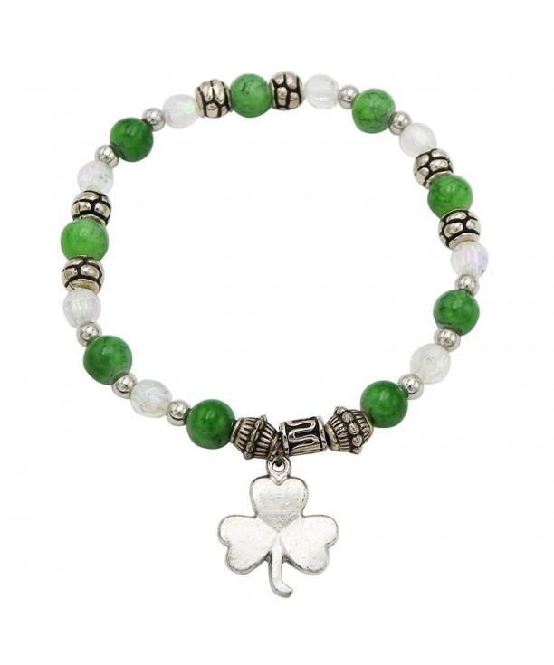 Day Irish Beaded Stretch Bracelet