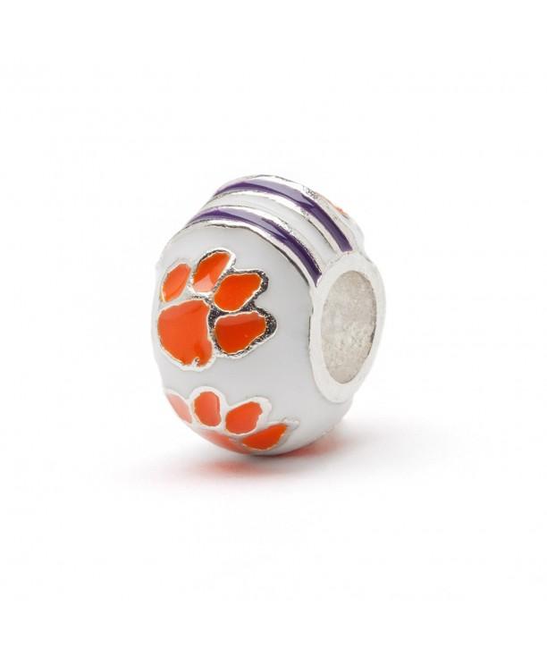 Clemson University Jewelry Stainless Bracelets