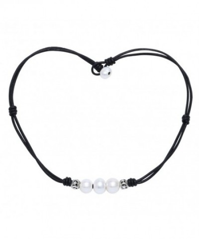 Double Strand Leather Necklace Jewelry
