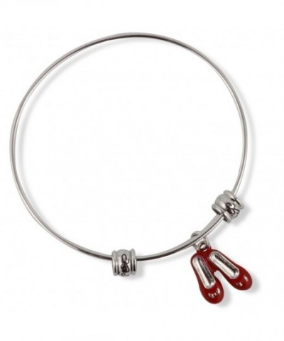 Ruby Slippers Shoes Fancy Bangle