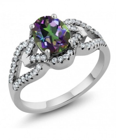 Sterling Silver Mystic Gemstone Available