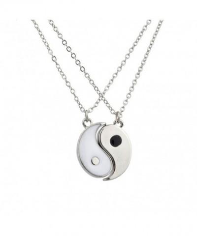 Lux Accessories Silvertone Friends Necklaces