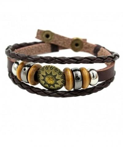 Christmas Amulet Braided Adjustable Bracelet