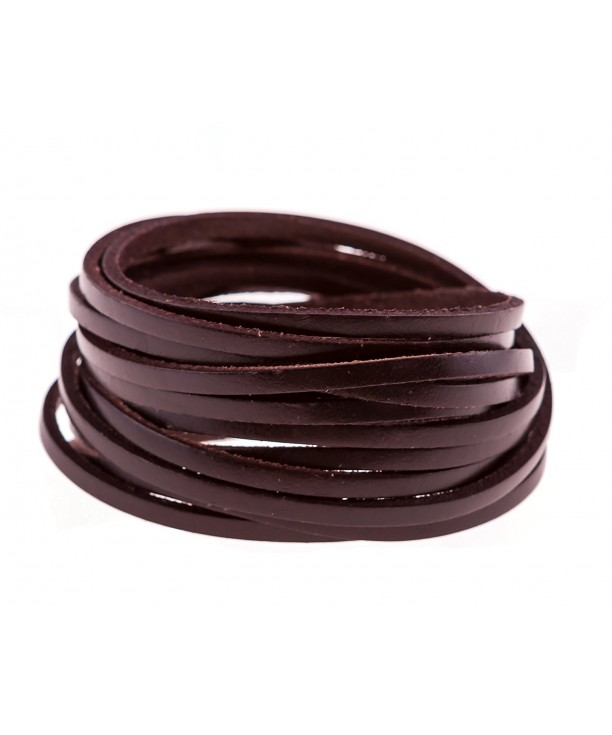 True Heart Style Multi strand Chocolate