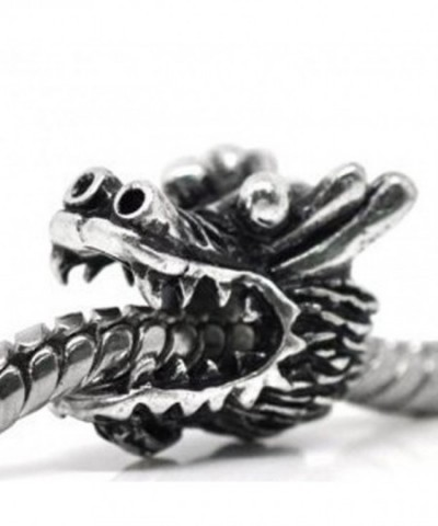 European Dragon Charm Spacer Bracelet