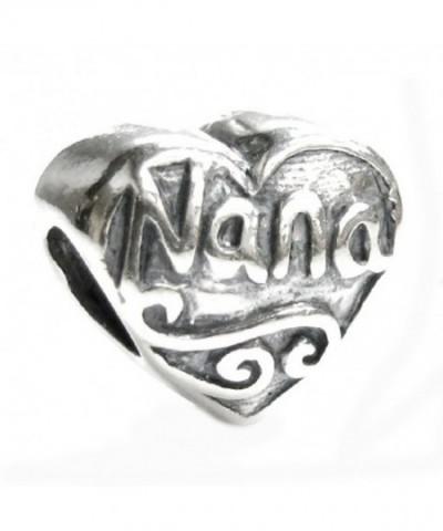 Sterling Silver Grandma European Bracelets