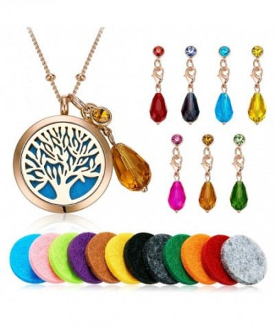 Aromatherapy Essential Diffuser Pendant Necklace