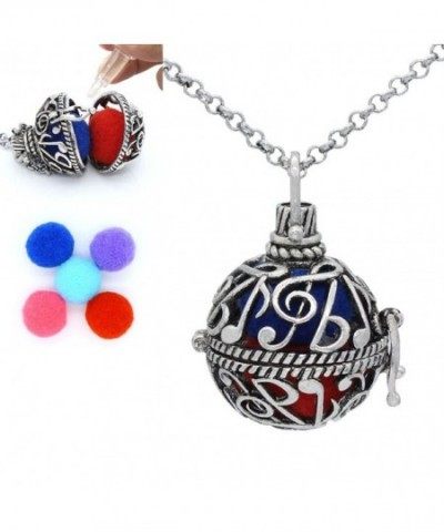 Aromatherapy Essential Diffuser Locket Necklace
