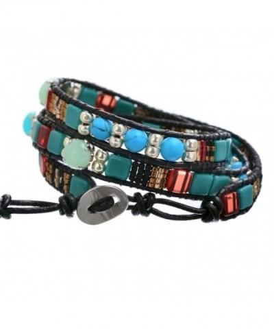 BeadChica Bracelet Unique Handmade Leather