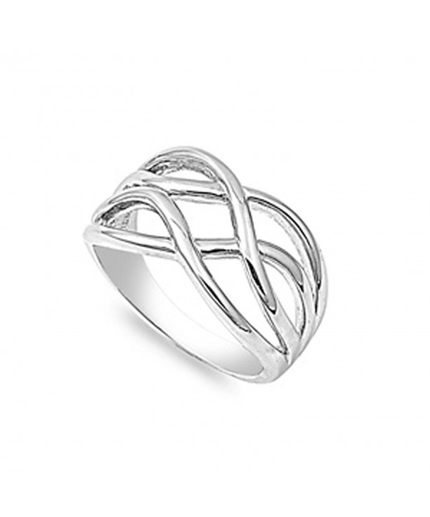 Sterling Silver Womens Simple Wholesale