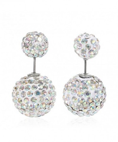 Sexy Sparkles Earrings Rhinestone Stoppers