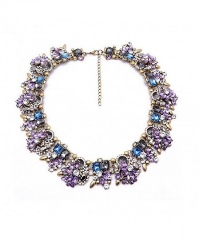 Ziye Shop Colorful Rhinestone Necklace