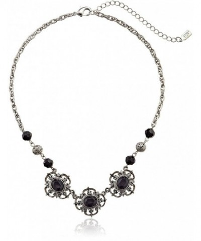 1928 Jewelry Essentials Silver Tone Necklace