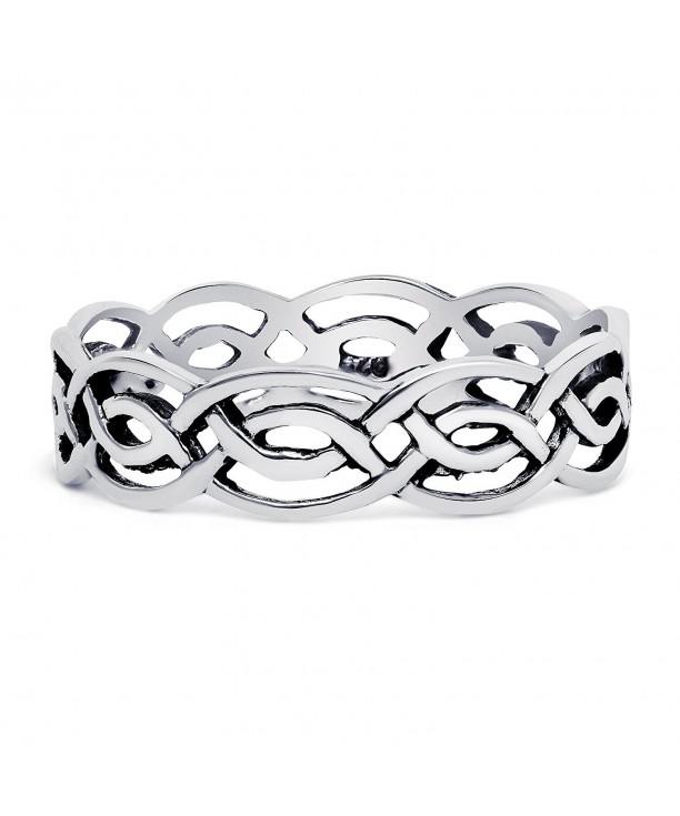 Sterling Silver Open Celtic Pattern