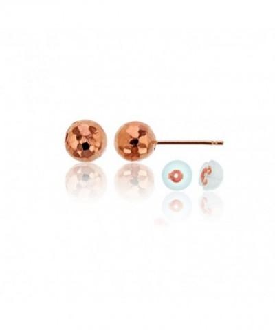 Rose Earrings Silicon Earring Backs