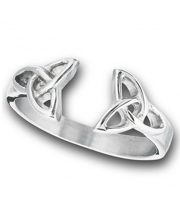 Celtic Triquetra Thumb Stainless Steel