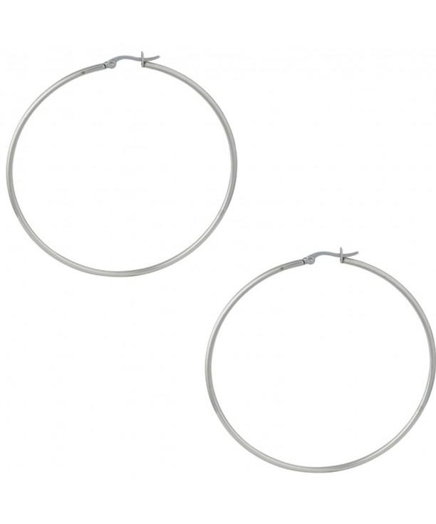 Stainless Steel 2 75 Earrings Women