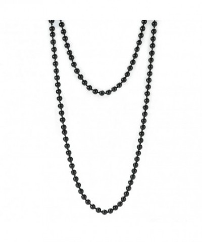 Simulated Strand Necklace Manual Collar