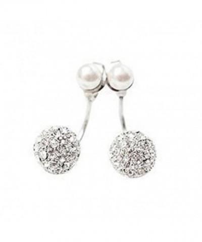 Fashion Womens Rhinestone Earrings Earbobs
