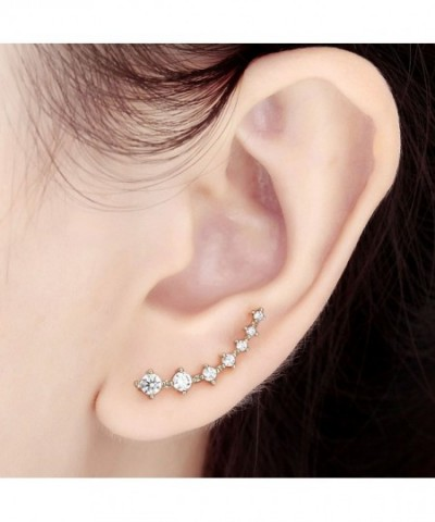 OKAJEWELRY Cubic Zircon Crystal Earrings