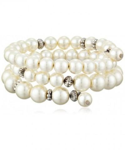 1928 Jewelry Essentials Silver Tone Bracelet
