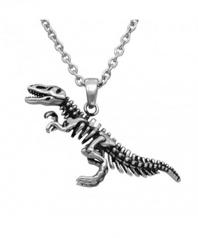 Controse Dinosaur Necklace Skeleton Stainless