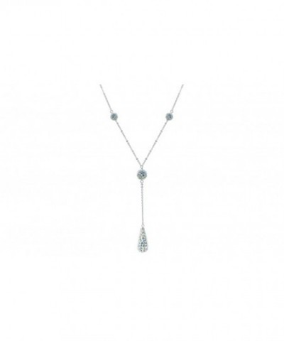Sterling Spectacular Crystal Necklace Available