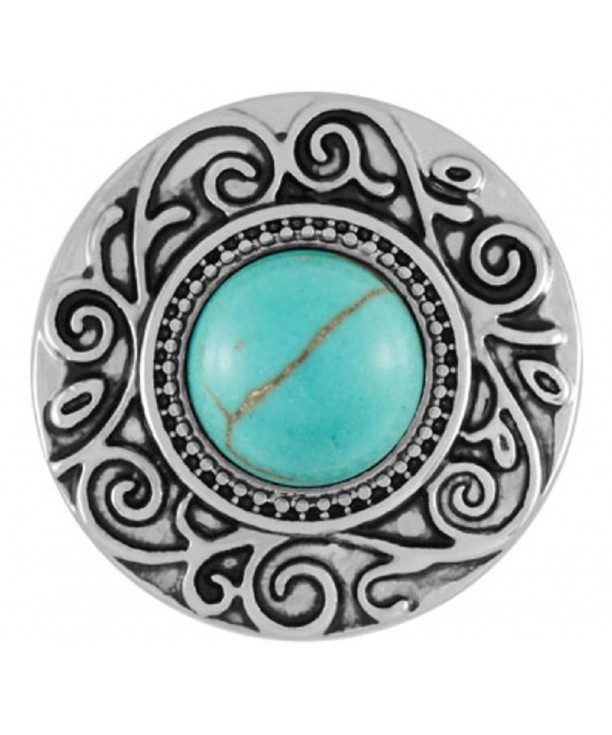 Ginger Snaps Turquoise Interchangeable Accessories