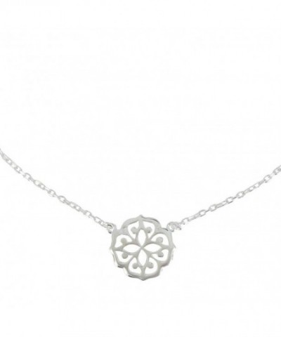 Poulettes Jewels Sterling Necklace Blossom