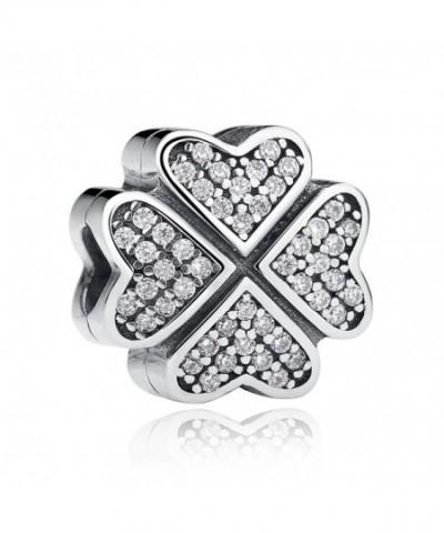 Petals Sterling Silver European Bracelet