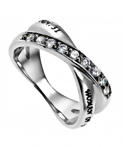 Proverbs Radiance Silver Stainless Stones